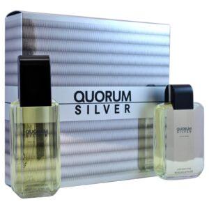 Quorum silver 2pc set