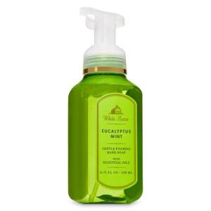 Bath And Body Works White Barn Eucalyptus Mint 259 ml Gentle Foaming Hand Soap