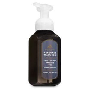 Bath And Body Works White Barn Mahogany Teakwood 259 ml Gentle Foaming Hand Soap